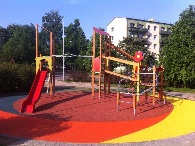 Vaikų žaidimų aikštelių danga